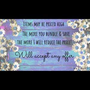 Bundle & Save! Always send offers!